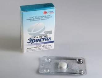 Эректил: инструкция и показания по применению препарата