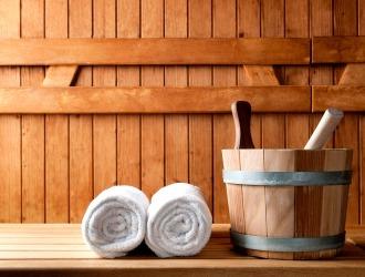 Русская баня очень полезна для мужского организма