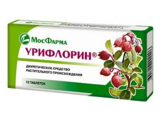 Урифлорин - средство для лечения уретрита и цистита